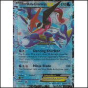 001 Carta Pokemon Ash Greninja EX Ingles