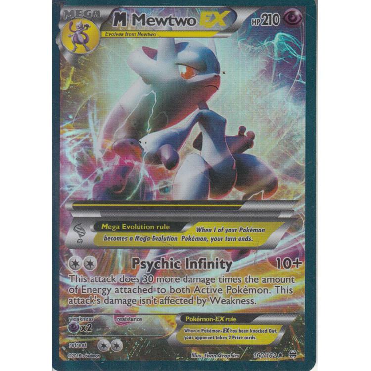 062 Carta Pokemon Mmewtwo EX Ingles