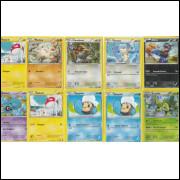 006 Lote Pokemon 100 Cards Diferentes