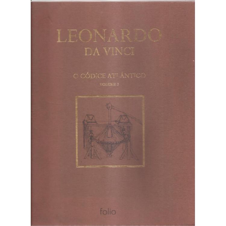 002 Livro Leonardo Da Vinci O Codigo Atlantico Volume 02