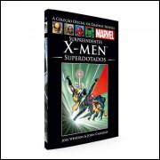002 Livro Surpreendentes X - Men Superdotados
