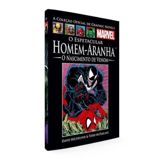 026 Livro O Espetacular Homem Aranha O Nascimento de Venom