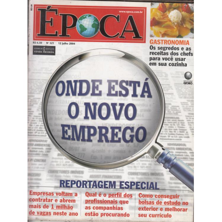 029 Revista Epoca ED 321 Onde Esta O Novo Emprego