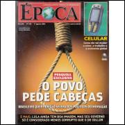 062 Revista Epoca ED 376 O Povo Pede Cabeças