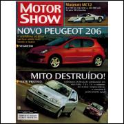 012 Revista Moto Show N 268 Julho 2005 Ano 24 Novo Peugeot 206