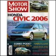 016 Revista Moto Show N 272 Novembro 2005 Ano 24 Honda Civic 2006