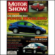 017 Revista Moto Show N 273 Dezembro 2005 Ano 24 Exclusivo Um Grande Fiat Punto