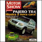 024 Revista Moto Show N 280 Julho 2006 Ano 25 Pajero TR4