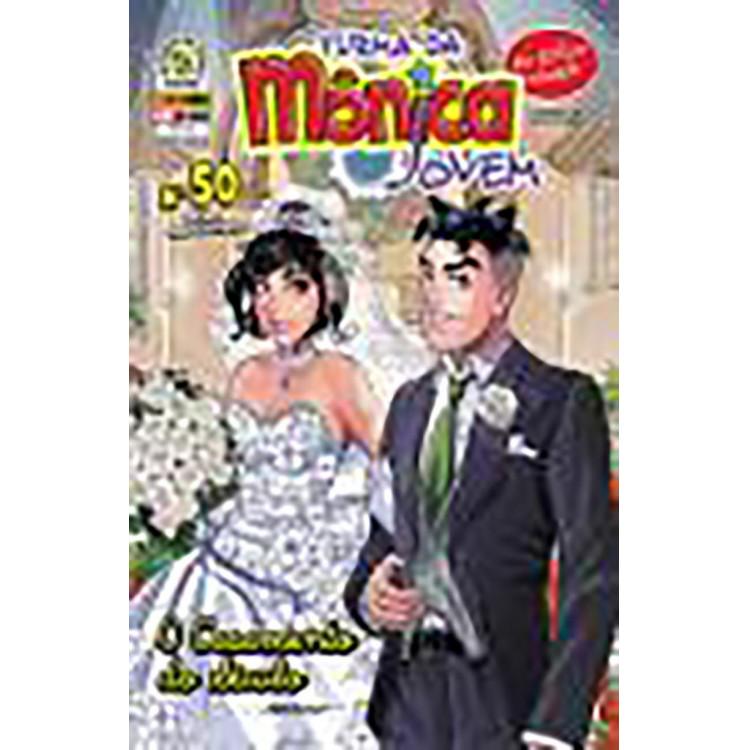 Turma da Mônica Jovem N* 50 O Casamentoi do Século Lacrado