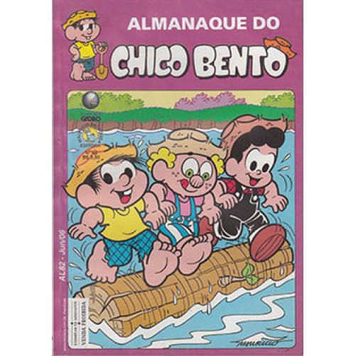 Almanaque do Chico Bento N* 93 Editora Globo