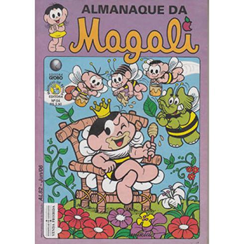 Almanaque da Magali N* 54 Editora Globo