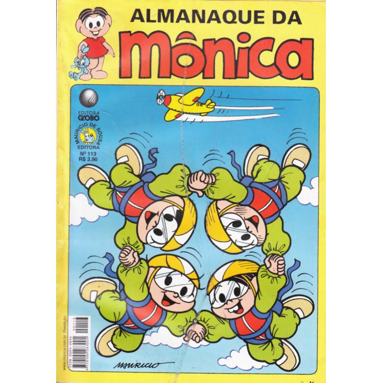 Almanaque do Mônica N* 113 Editora Globo