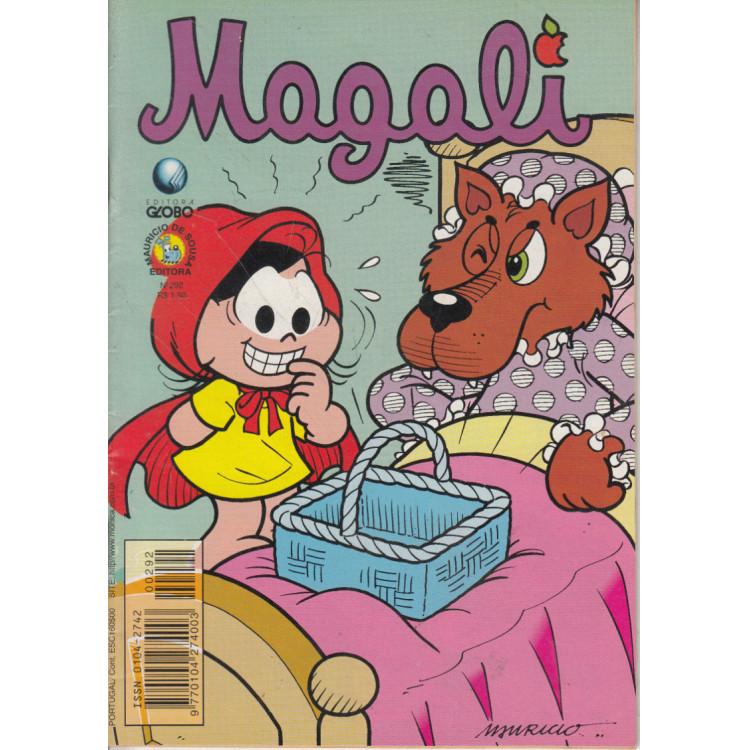 Gibi da Magali N* 292 Editora Globo