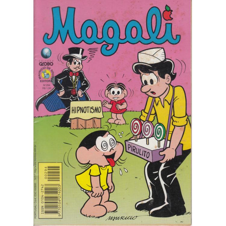 Gibi da Magali N* 294 Editora Globo