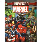 Figurinhas do Álbum Universo Marvel 2016 Abril