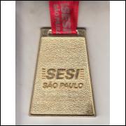 009 Medalha Sesi São Paulo Torneio Sesi-SP Interclasses 2010