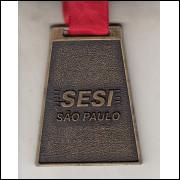 011 Medalha Sesi São Paulo Torneio Sesi-SP Interclasses 2010