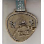 013 Medalha Sesi São Paulo Prata