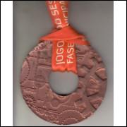 017 Medalha Sesi São Paulo Jogos do Sesi Fase Estadual Ouro