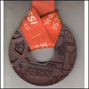019 Medalha Sesi São Paulo Jogos do Sesi Fase Estadual Bronze