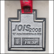 022 Medalha 61* Jogos Industriarios do Sesi Sistema Fiesp Jois 2008