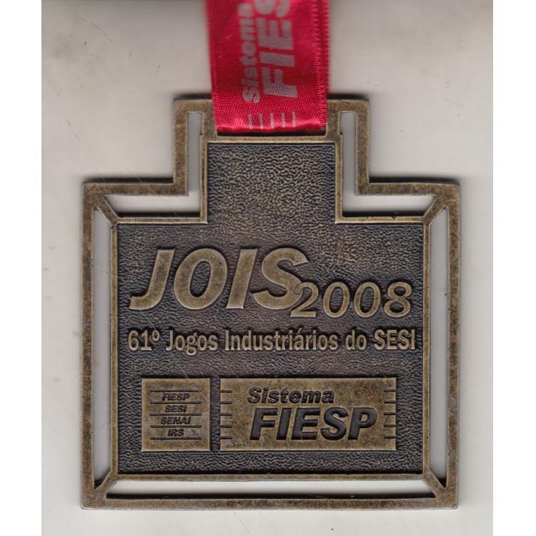 024 Medalha 61* Jogos Industriarios do Sesi Sistema Fiesp Jois 2008