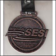 025 Medalha Sesi São Paulo Jogos do Sesi Fase Municipal 2013