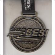 026 Medalha Sesi São Paulo Jogos do Sesi Fase Municipal 2013