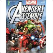 Figurinhas do Álbum Avengers Assemble 2015 Abril
