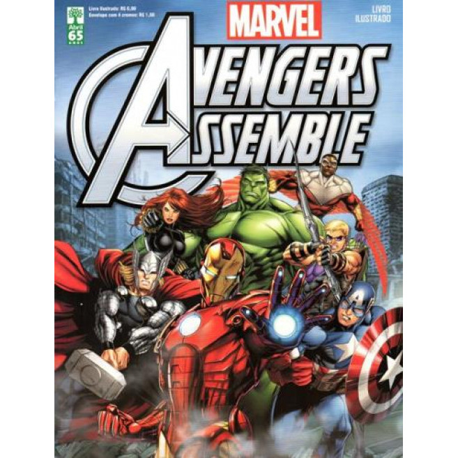 Figurinhas do Álbum Avengers Assemble 2015 Abril