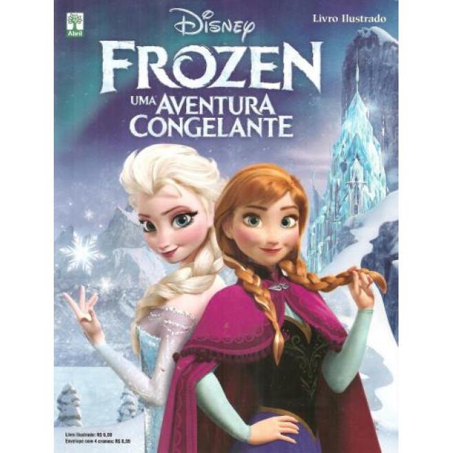 Figurinhas do Álbum Frozen Uma Aventura Congelante 2014 Abril