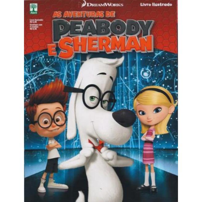 Figurinhas do Álbum As Aventuras De Peabody e Sherman 2014 Abril