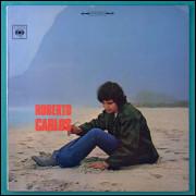 008 LP Roberto Carlos 1969 Stereo Diamante Cor Rosa Soul Groove Rock Beat Jovem Guarda Brasil