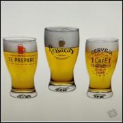 005 Conjunto 3 Copos de Cerveja Kathavento Ressacas 220ml