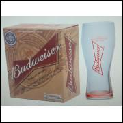 008 Conjunto 2 Copos Cerveja Budweiser 400 ml Globimport