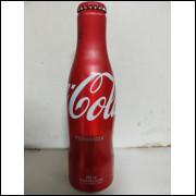 006 Coca Cola Garrafa de Aluminio Original 250 ml com Nome Fernanda