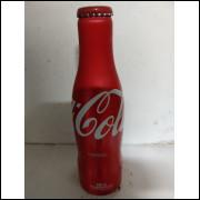 015 Coca Cola Garrafa de Aluminio Original 250 ml com Nome Anibal