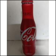 016 Coca Cola Garrafa de Aluminio Original 250 ml com Nome Edison