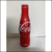 017 Coca Cola Garrafa de Aluminio Original 250 ml com Nome Neco