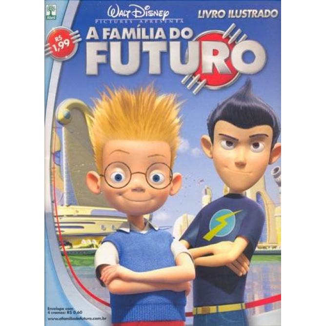 Figurinhas do Album A Familia Do Futuro 2007 Abril