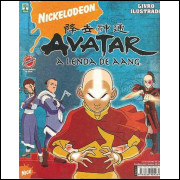 Figurinhas do Album Avatar A Lenda de Aang 2008 Abril