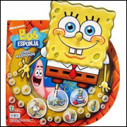Figurinhas do Album Bob Esponja 2009 Abril