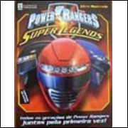 Figurinhas do Album Power Rangers Super Legends 2009 Abril