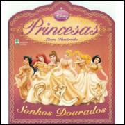 Figurinhas do Album Princesas Sonhos Dourados 2009 Abril