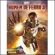 Figurinhas do Álbum Homem de Ferro 3 2013 Panini