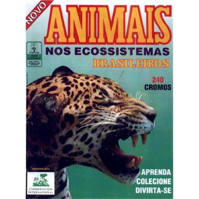 Album Animais Nos Ecossistemas Brasileiros