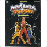 Album Power Rangers Ninja Storm Vazio Ano 2005 Abril