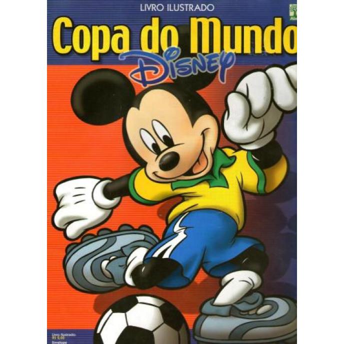 Album Copa Disney com 120 Fig Falta 118