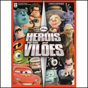 Album Herois Versus Vilões Completo Soltas