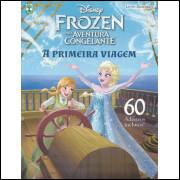 Album  Frozen Uma Aventura Congelante 2015 A Primeira Viagem Livro Ilustrado Completo 60